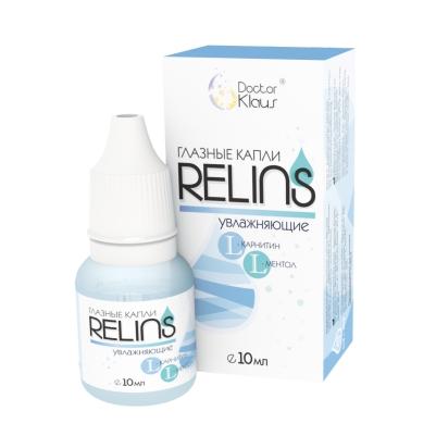 Капли глазные RELINS увлажняющие