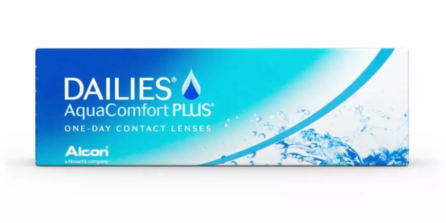 Однодневные контактные линзы Dailies Aqua Comfort Plus