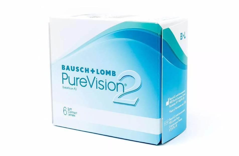 Контактные линзы Pure Vision 2